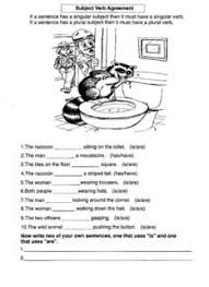 exercises on subject verb agreement k k club 2017