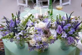 Purple Wedding Centerpieces Purple Wedding Flowers Bitsy Bride