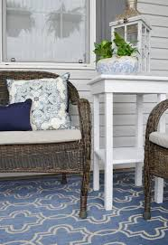 Home Decorators Outdoor Rugs The Cheerful Home Summer Front Porch Refresh
