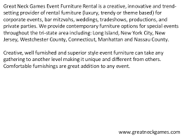 event furniture rental nyc event furniture rental new york event specialists serving nj ct an