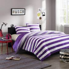 marvellous funky teenage bedding funky teenage bedding uk with purple and white combination striped