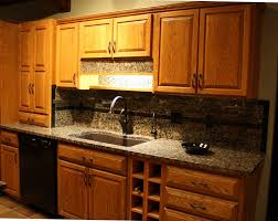 Ideas For Kitchen Backsplash With Granite Countertops kitchen cream mosaic granite backsplash and countertop combine