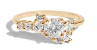 diamond ring diamond cluster ring bario neal