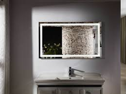 bathroom bathroom mirror cabinet with lights and shaver socket