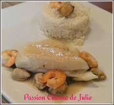 cuisiner un filet de julienne filet de julienne à la normande cuisine de julie