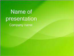 green wave powerpoint template u0026 backgrounds id 0000001789