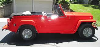 custom willys jeepster 1950 willys jeepster custom convertible v8 auto frame off resto