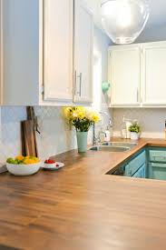 kitchen cabinet colors with butcher block countertops how to install butcher block countertops hey let s make stuff