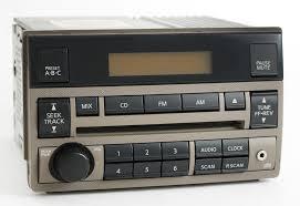 Nissan Altima 2005 - nissan altima 2005 2006 tan radio amfm cd aux input 28185zb00c