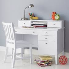 White Desk With Hutch And Drawers White Desk With Hutch Foter