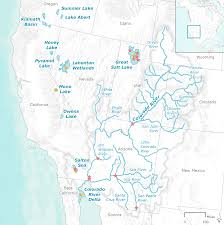 Map Of Western Us Executive Summary U2014water And Birds In The Arid West Habitats In