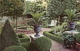 spanish garden inspiration with garden bench also antique