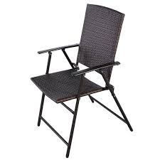 Folding Chairs Set Of 4 Rattan Folding Chair Outdoor Chairs Outdoor Seating