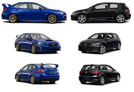 volkswagen gti sports car wrx vs volkswagen gti old saybrook compare sports cars in