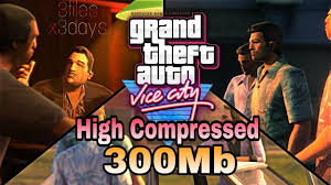 gta vice city apk data 300mb high compressed gta vice city on android apk data