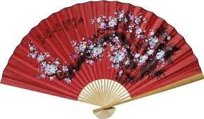 decorative fan 1 x large 60 folding wall fan prosperity blossoms original