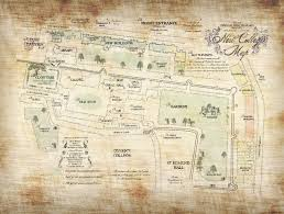Map Of Oxford Ohio by A Marauder U0027s Map Of New College Oxford Album On Imgur