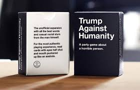 cards against humanity expansion cards against humanity and hating on donald we