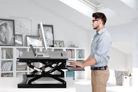 smith kogan height adjustable standing desk riser medium