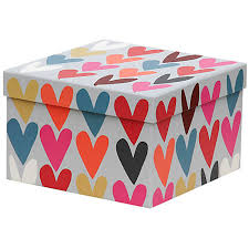 gift boxes buy caroline gardner hearts gift box large lewis