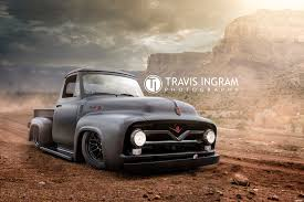 bagged nissan 720 travis ingram on drivetribe bagged 1953 ford f100 built by dub