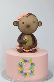 monkey cake topper fondant monkey cake topper wrap it in sugar