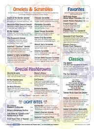 online menu for hobee u0027s restaurant south palo alto in palo alto