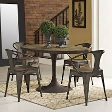 industrial dining room table industrial dining tables birch lane
