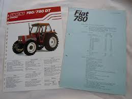 vintage fiat 780 780dt tractor leaflets u2022 6 95 picclick uk