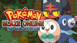 pokemon fan games online pokemon blaze online pokemon mmo fan game showcase youtube