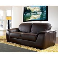 leather livingroom set abbyson living avalon 2 pc leather living room set brown