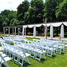 outdoor wedding reception venues top 10 chicagoland rustic chic wedding venues