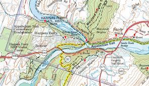 Appalachian Trail Virginia Map by 9m Beginning U0026 Moderate Hikers Friendly Harper U0027s Ferry Loudoun