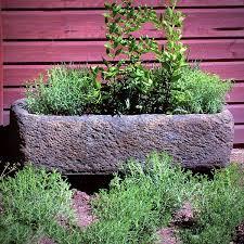 stone garden urns troughs planters large pots