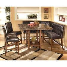 counter height dining room table sets corner counter height dining room set signature design