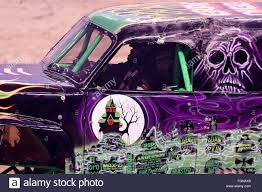 monster jam grave digger truck new orleans la usa 20th feb 2016 grave digger monster truck