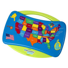 Map De Usa by Amazon Com Interactive Usa Talking Puzzle Map With Capitals Toys