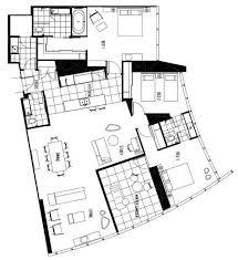 three bedroom apartments floor plans q1 resort s three bedroom spa apartment gold coast
