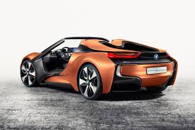 Bmw I8 Mirrorless - bmw cuts the roof off an i8 fills it with the future by car magazine