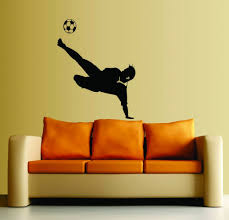 Amazon Wall Murals by Large Easy Instant Decoration Wall Sticker Wall Mural Sport Boy