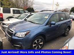 subaru forester 2017 quartz blue used cars for sale new cars for sale car dealers cars chicago