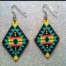 Knitted Chandelier Earrings Pattern Best 25 Beaded Earrings Ideas On Pinterest Diy Beaded Earrings