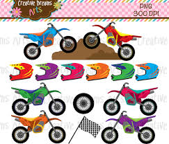 mud truck clip art 40 off motorcycles dirt bike digital clip art instant