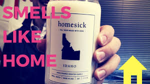 Homesick Candle Is This What We Really Smell Like Youtube