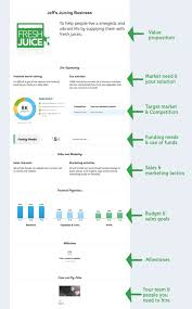 one page business plan template free plans 2016 pertai cmerge