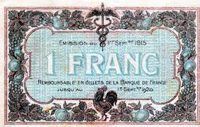 chambre de commerce macon les billets des chambres de commerce de mâcon et de bourg 1915