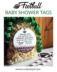 football baby shower football baby shower party favor tags