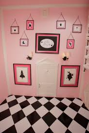 Alice And Wonderland Home Decor by Wooden Wall Shelves In Pink Doll House Design Woodworking Camp