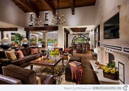 Beautiful Living Room Interior Design Ideas Home Design Lover - Spanish living room design