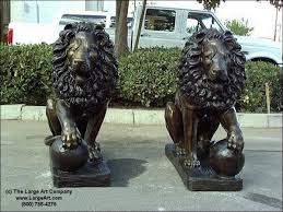 lion statues for sale new bronze statues and bronze sculptures